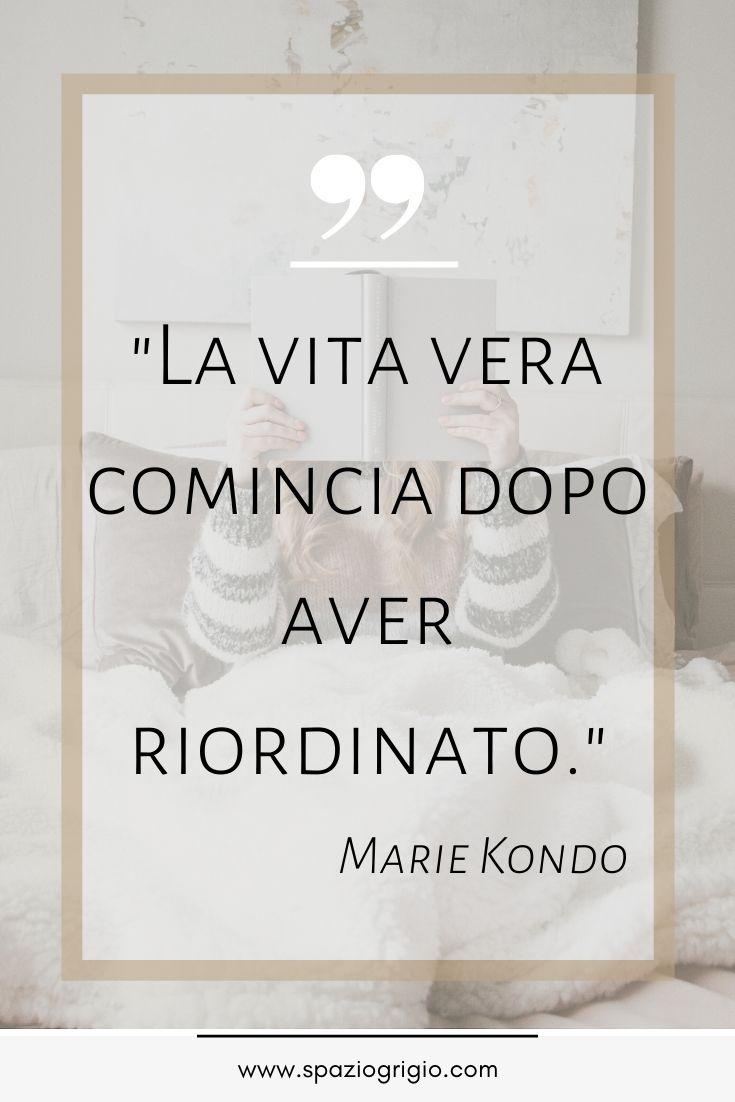 Il magico potere del riordino di Marie Kondo