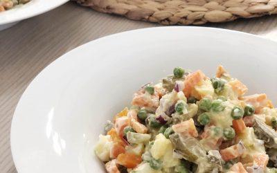 Insalata russa vegana – ricetta semplice e buona