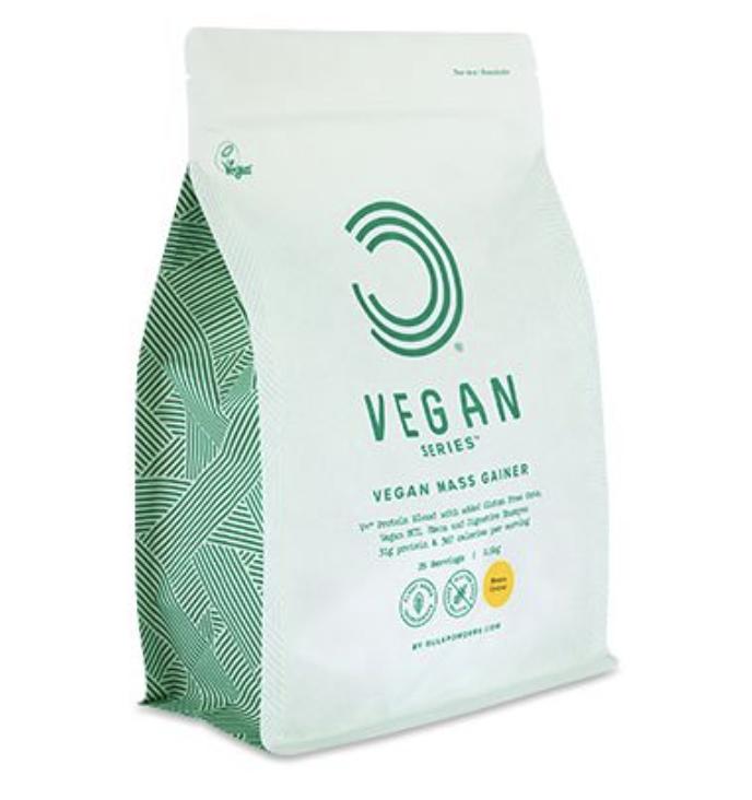 Aumento massa vegano