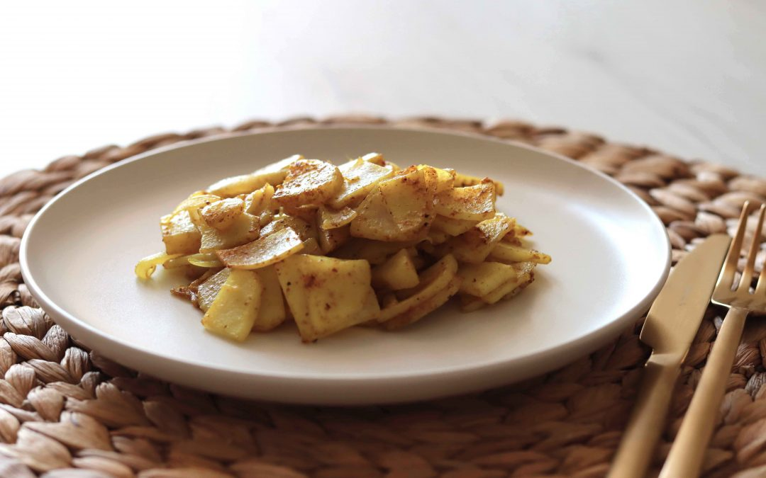 patate con curry